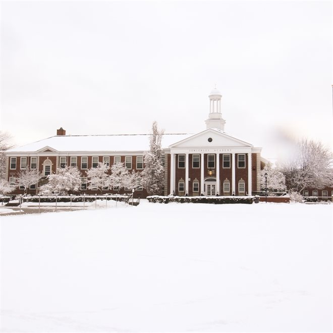 Snow Blankets Sewickley Academy