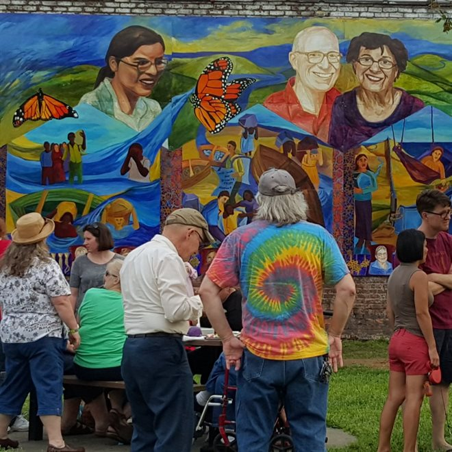 Fairview Park Mural unveiled in Ohio City