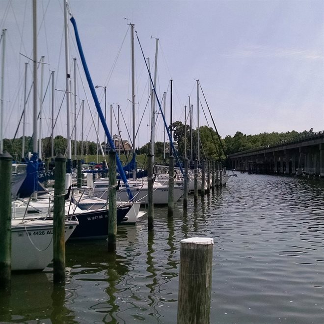Marina on Fort Monroe
