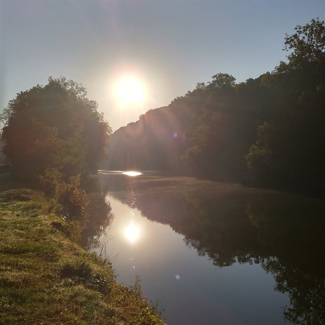 Rocky River Sunrise