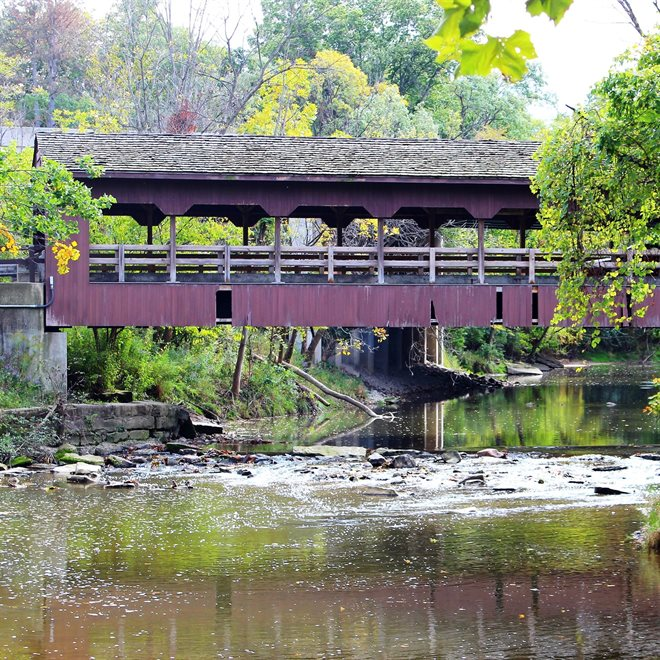Ehrnfelt Covered Bridge