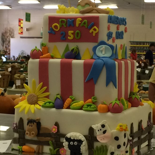 Farm Cake at York Fair