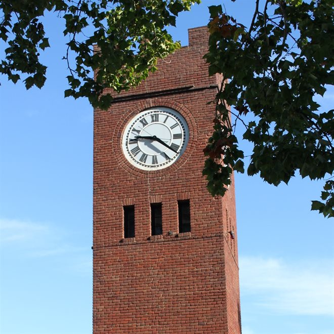 Hudson Green Clocktower