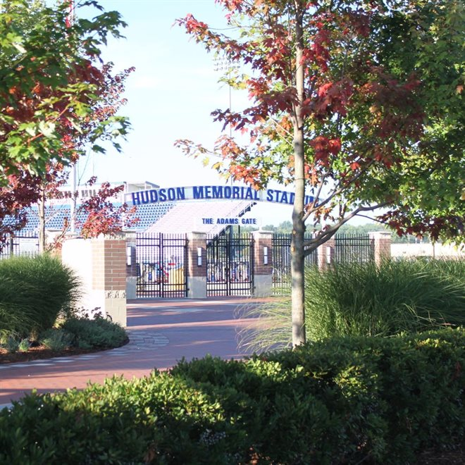 Hudson Memorial Stadium at Hudson High School