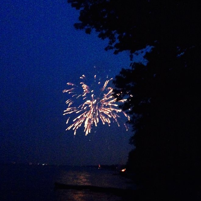 Fourth of July on Lake Erie