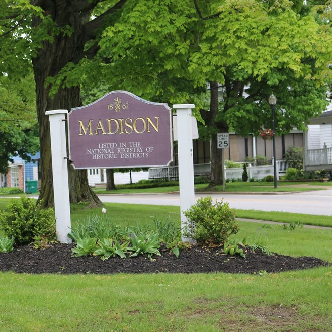 Madison Village Sign