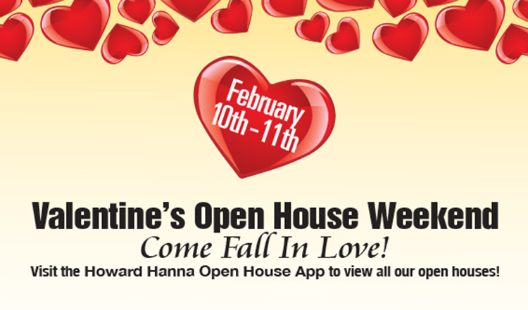 Valentine Open House Weekend