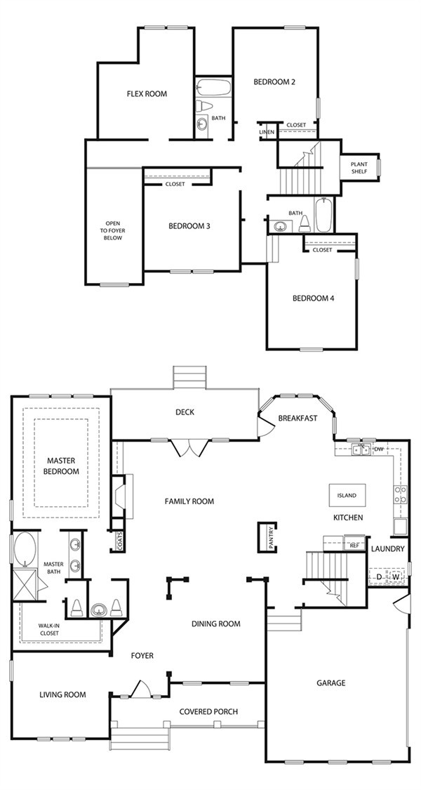 Covington Single Family Home Plan By L R Hill