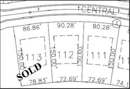 Photo for 132 Central Park Lot 112