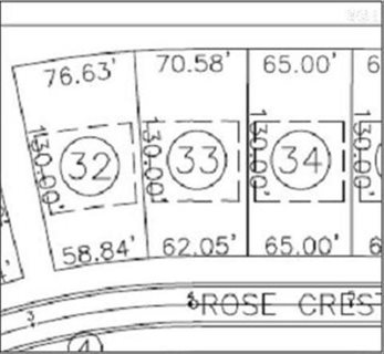 Photo for 587 Rose Crest Lot34